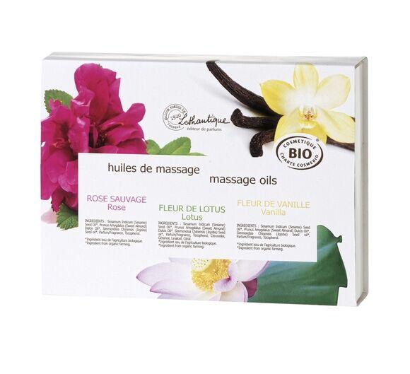 LOTHANTIQUE Soldes - Coffret huiles de massage BIO