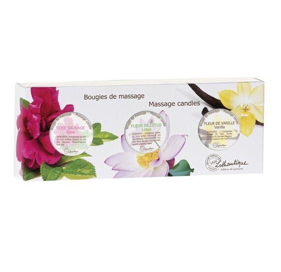 LOTHANTIQUE Soldes - Coffret bougies de massage