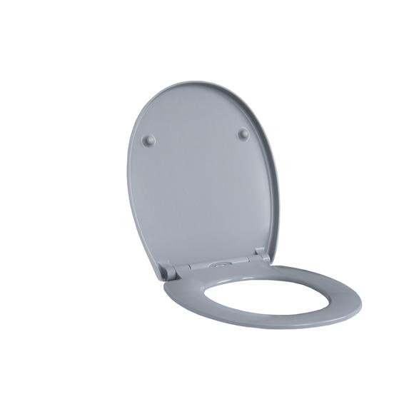 SENSEA Abattant WC remix oval gris