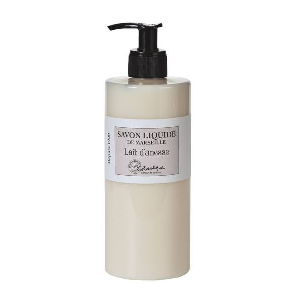 LOTHANTIQUE Distributeur de savon de marseille au Lait d'ânesse 500ml