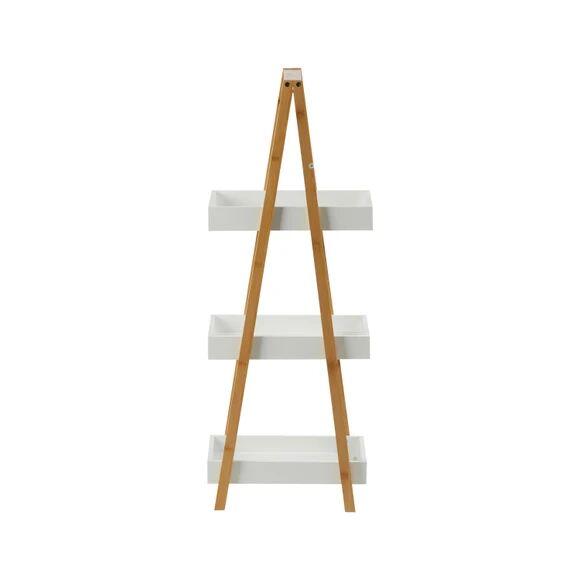 5 FIVE SIMPLY SMART Rangement de salle de bain à 3 niveaux en bambou