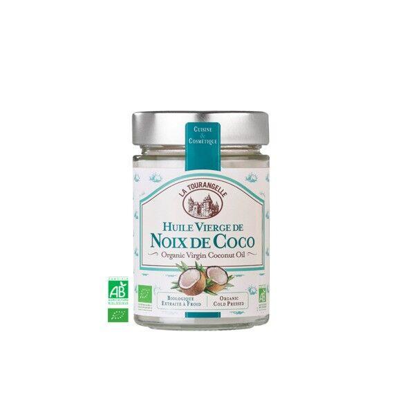 LA TOURANGELLE Huile vierge de noix de coco bio 250ml