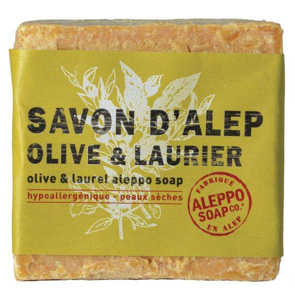 TADE Savon d'alep olive et laurier 200gr