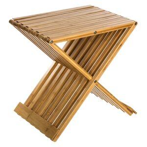 5 FIVE SIMPLY SMART Tabouret bambou pliant - Publicité