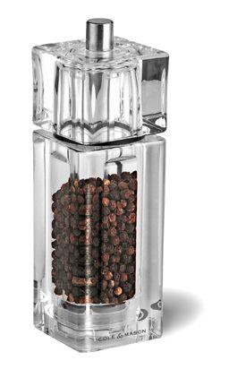 COLE & MASON Moulin à poivre Cube 14,5cm