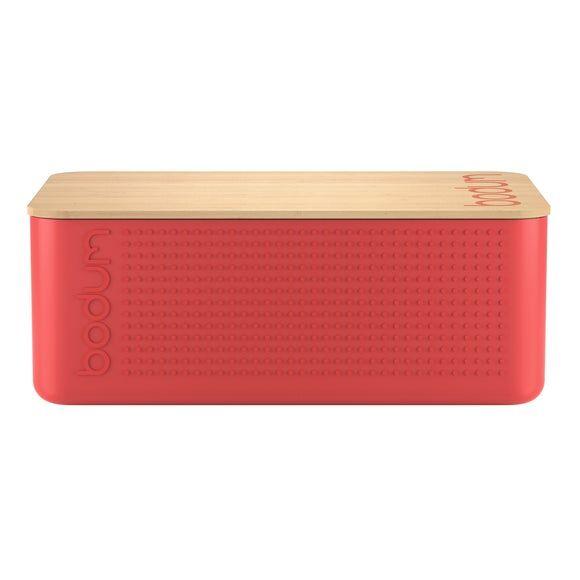 BODUM Boîte à pain Bistro grand modèle rouge