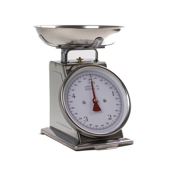 . Balance de cuisine mécanique en inox 20kg