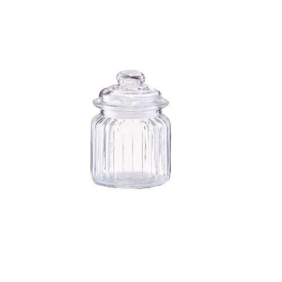 ZELLER Pot de conservation en verre Nostalgie 250ML