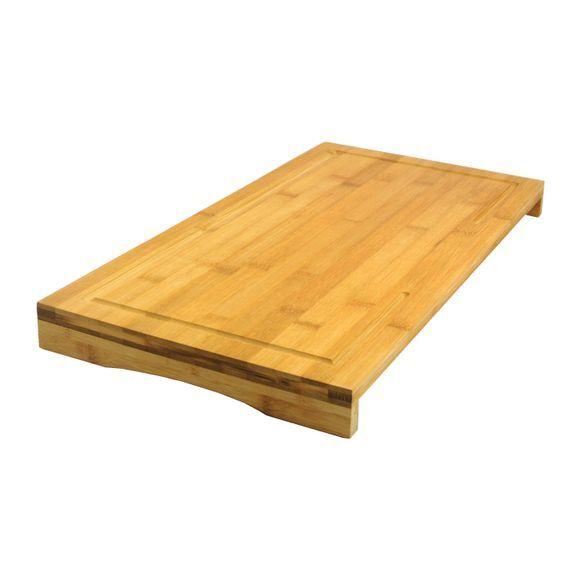 ZODIO Pont de découpe en bambou 54x28x4,3cm