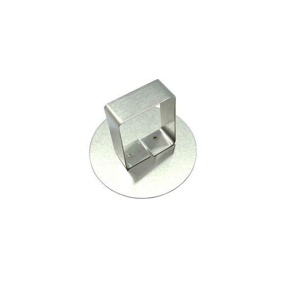 . Poussoir pour cercle à pâtisserie en inox 7 cm