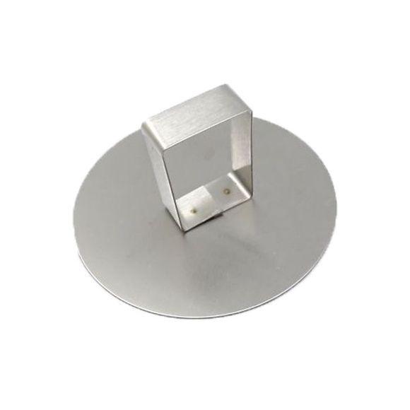 . Poussoir pour cercle à pâtisserie en inox 9 cm