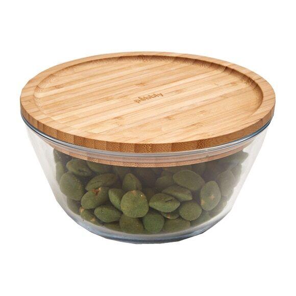 Pebbly Soldes - Boîte en verre carré 1,4l