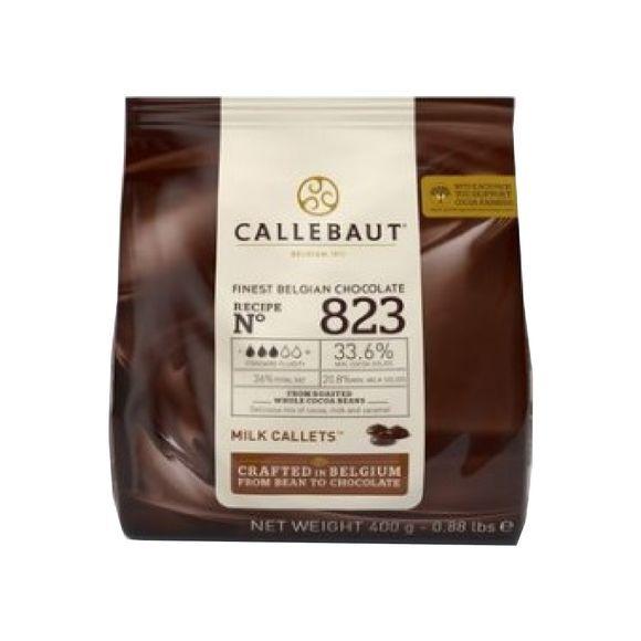 PATISDECOR Chocolat au lait de couverture 33,6% cacao 400g