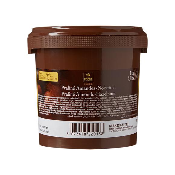 BARRY Praline aux amandes et noisettes en pot 1kg