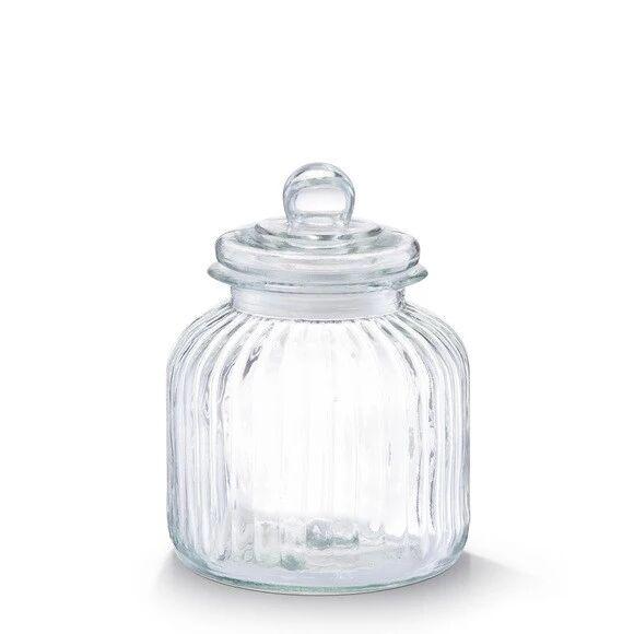 ZELLER Pot à biscuits en verre Nostalgie 3,8L