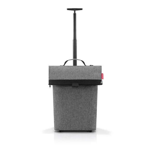 REISENTHEL Cabas à roulettes en toile gris 40L