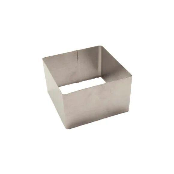 . Cadre à pâtisserie carré en inox 4,5cm