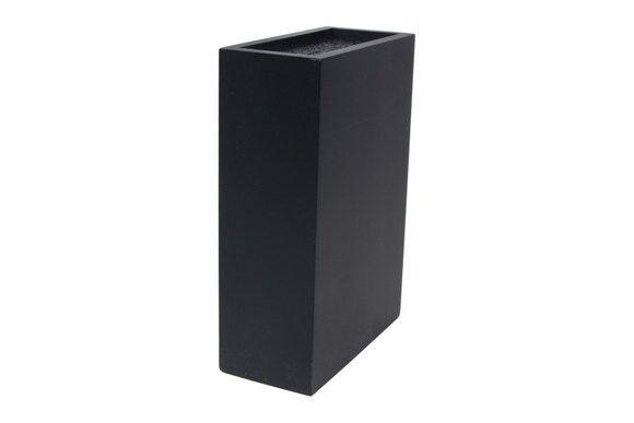 ZODIO Bloc couteaux universel rectangle bois noir