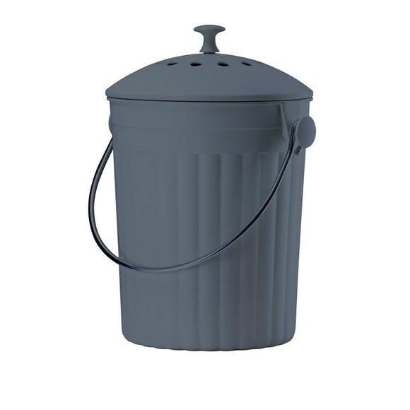 . Seau à compost avec filtres à charbon anti-odeurs