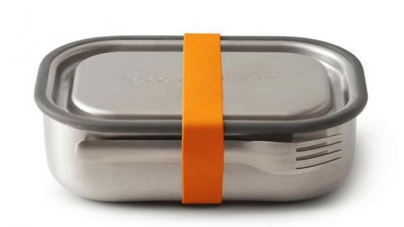 . Lunch box inox orange
