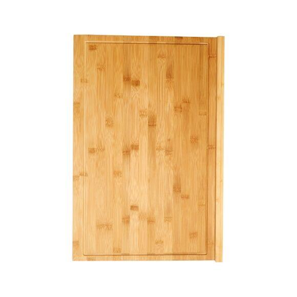 ZODIO Plan de travail réversible avec rebord en bambou 40x60x2cm