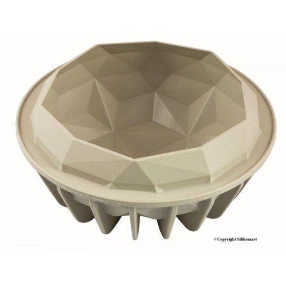 SILIKOMART Moule 3D pierre précieuse en silicone 18cm Gemma