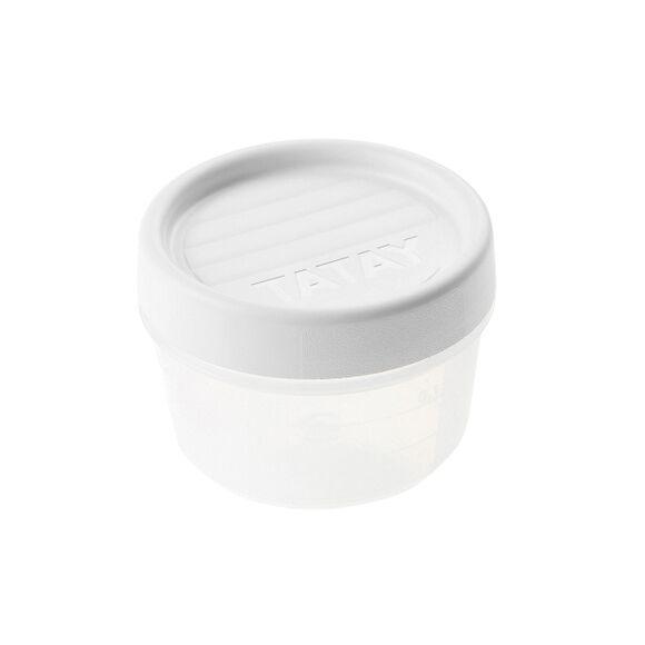 TATAY Soldes - Boite de conservation avec couvercle à vis en plastique 0,2L