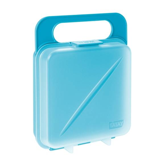 TATAY Soldes - Boîte de conservation pour sandwich bleue