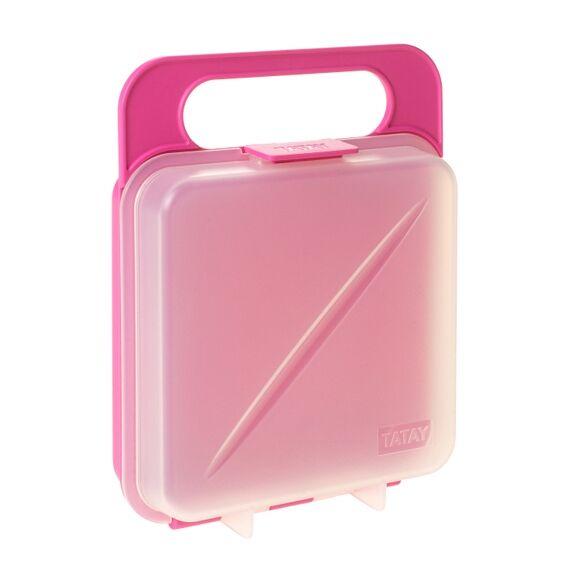 TATAY Soldes - Boîte de conservation pour sandwich rose