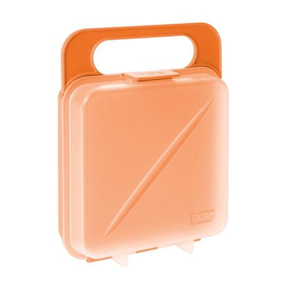TATAY Boîte de conservation pour sandwich orange