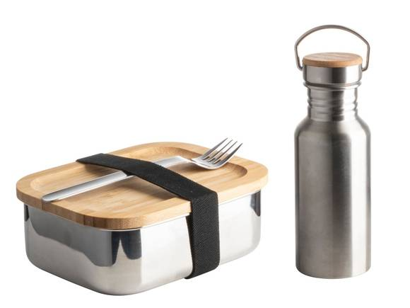 . Coffre Lunch Box Eco Bambou