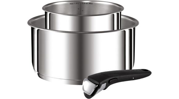 TEFAL Lot Ingenio Preference inox casserole 18 et 20cm