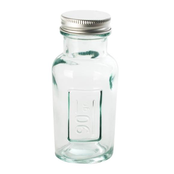 . Soldes - Pot à épices en verre recyclé avec capsule à vis 90gr