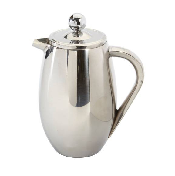 . Cafetière piston double paroi inox 360ml
