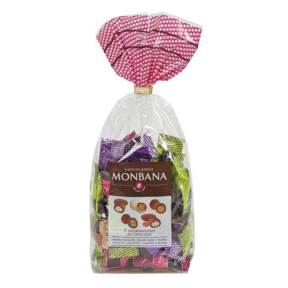 MONBANA 50 confiseries au chocolat 135g