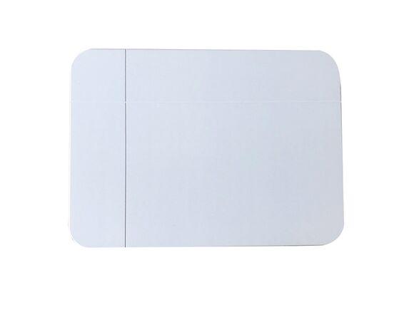. Tapis de bain 55x40cm en diatomite absorbant blanc