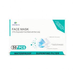 OutletSalud Masque chirurgical jetable triple couche standard GB / T32610 boîte de 50 unités