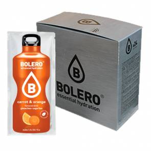 Bolero Pack 24 sachets Boissons Bolero Orange et Carotte - 15% de réduction supplémentaire lors du paiement