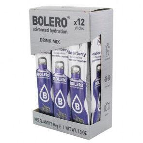 Bolero Pack 12 Sachets Bolero Drink goût Baies de Sureau 36 g