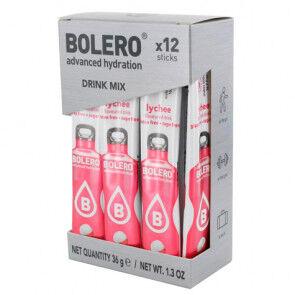 Bolero Pack 12 Sachets Bolero Drink goût Litchi 36 g