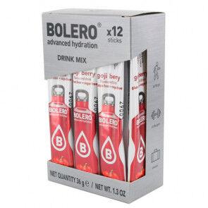 Bolero Pack 12 Sachets Bolero Drink goût Baies de Goji 36 g