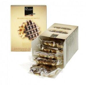 LaNouba Gaufres au chocolat belge low carb LaNouba 180 g - Publicité