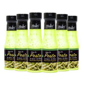 2bSlim Pack de 6 Sauces Pesto 0% 2bSlim 250 ml - Publicité