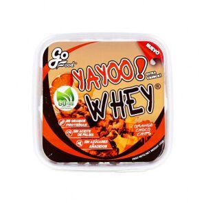GoFood Biscuits Protéiné Yayoo Whey aux Pépites de Chocolat et d'Orange GoFood 150 g - Publicité