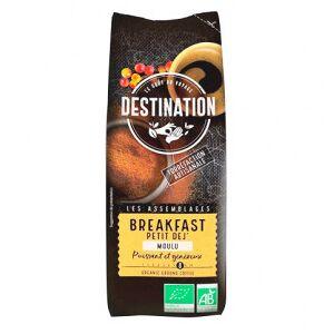Destination Bio Café Moulu Bio pour le Petit Déjeuner 100% Arabica Destination 250g - Publicité