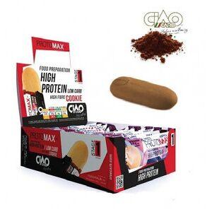 CiaoCarb Pack de 10 Biscuits CiaoCarb Protomax Phase 1 Cacao - Publicité