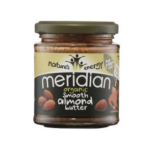 Meridian Foods Beurre d'Amande Doux Meridian 170 g - Publicité