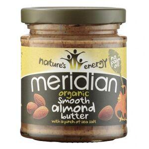 Meridian Foods Beurre d'amande douce bio au sel de mer méridien 170g - Publicité