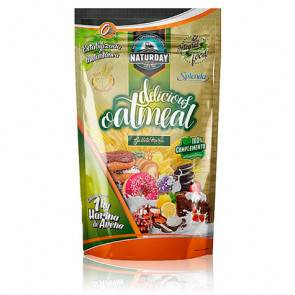 Naturday Farine d'Avoine Delicious Oat Meal Naturday 1 kg Natillas con Galleta
