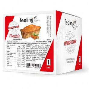 FeelingOk Gâteau FeelingOk PlumCake Start Amandes 180 g